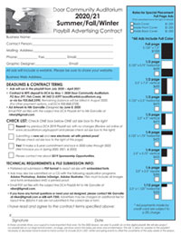 Playbill Advertising