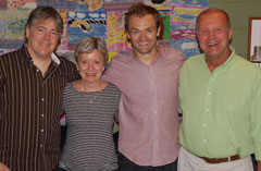 Béla Fleck & Chris Thile with Dick & Carol from The Cookery